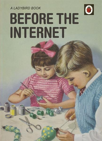 Before The Internet - A Ladybird Book