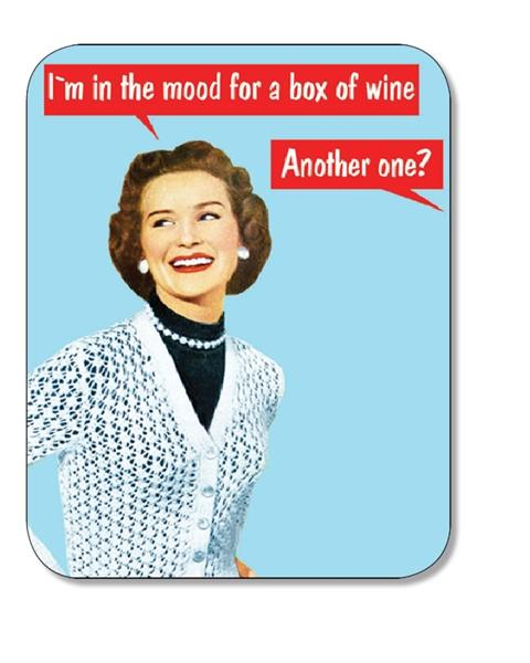 COASTER BOX OF WINE