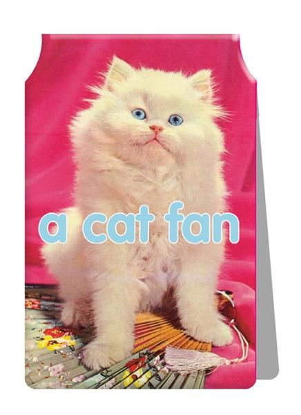 A Cat Fan Travel Card Holder