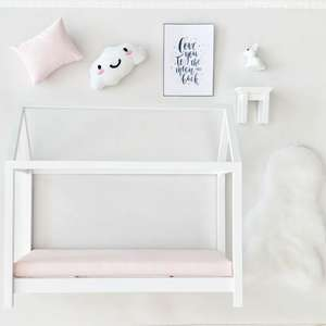 dollhouse house bed, modern dollhouse furniture package