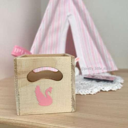 Pretty Little Minis Modern Dollhouse Furniture And Decor Storage Box