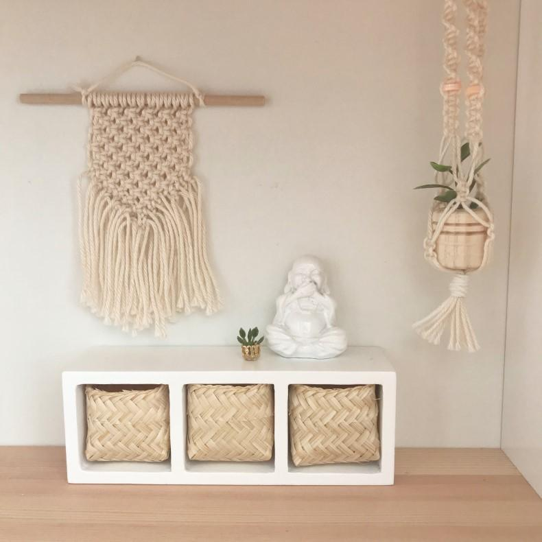 modern miniatures, modern dollhouse, modern dolls house, DIY modern dollhouse, modern dollhouse macrame, dollhouse macrame, dollhouse wall hanging, scandi dollhouse, boho dollhouse, ikea dollhouse, ikea dolls house, ikea flisat