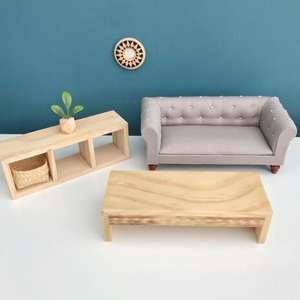 modern dollhouse furniture, modern dolls house furniture, ikea dollhouse furniture, ikea dolls house furniture, DIY modern dollhouse furniture, DIY dollhouse, modern miniatures, miniature sofa, dollhouse living room package