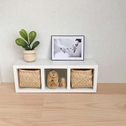dollhouse storage unit, modern dollhouse furniture, modern dollhouse DIY ideas, modern dollhouse interior, dollhouse DIY furniture