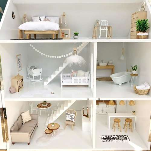 Pretty Little Minis Modern Dollhouse Furniture And Decor