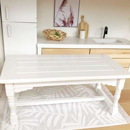 Pretty Little Minis Modern Wooden Dining Table