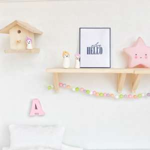 dollhouse wall print, dollhouse miniature wall print, why hello wall print