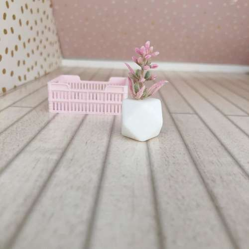 dollhouse plant, miniature plant, dollhouse planter