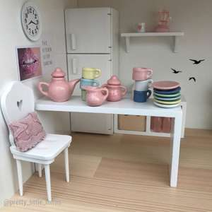 modern dollhouse tableware, modern dollhouse teaset, modern dollhouse furniture, modern dollhouse DIY ideas, modern dollhouse interior, dollhouse DIY furniture