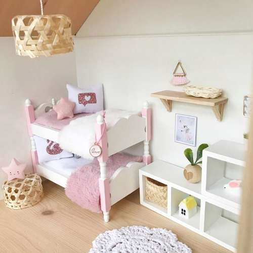 Pretty Little Minis Bamboo And Rattan Light Shades For Your Modern Dollhouse
