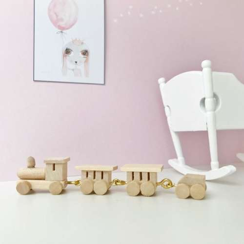 modern dollhouose mini train, miniature train, miniature toy, dollhouse toy, modern dollhouse furniture, modern dollhouse DIY ideas, modern dollhouse interior, dollhouse DIY furniture