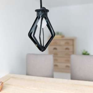 dollhouse pendant light, mini pendant light, dollhouse lighting