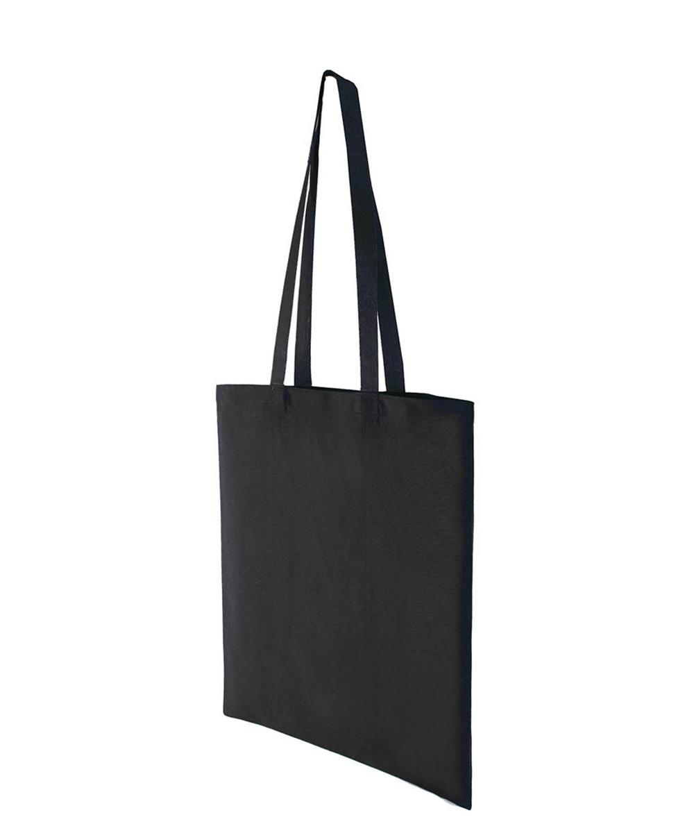 Black Lightweight Cotton Bag