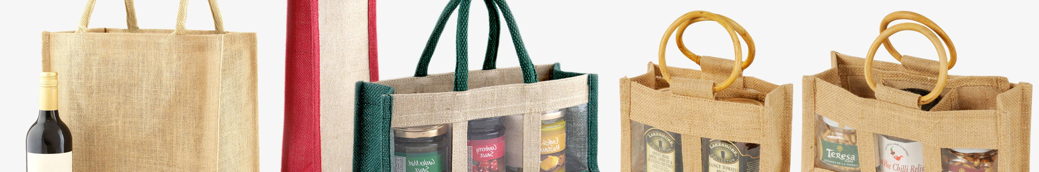 Jute Jar & Bottle Bags