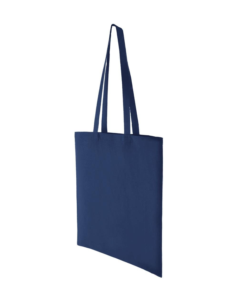 Navy Blue Lightweight Cotton Bag