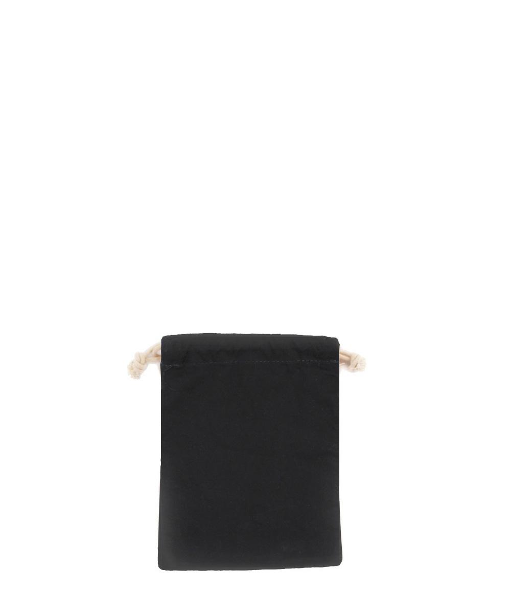 Black Cotton Pouch