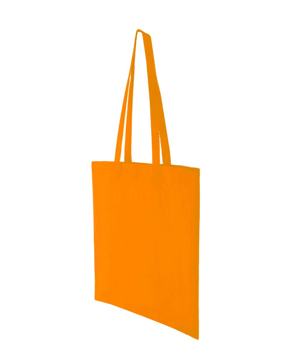 Orange Lightweight Cotton Bag
