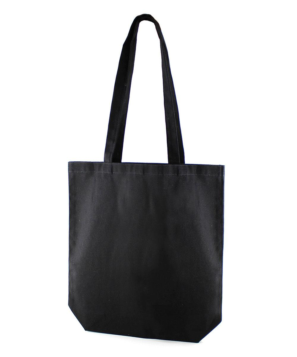 Premium Black Canvas Bag