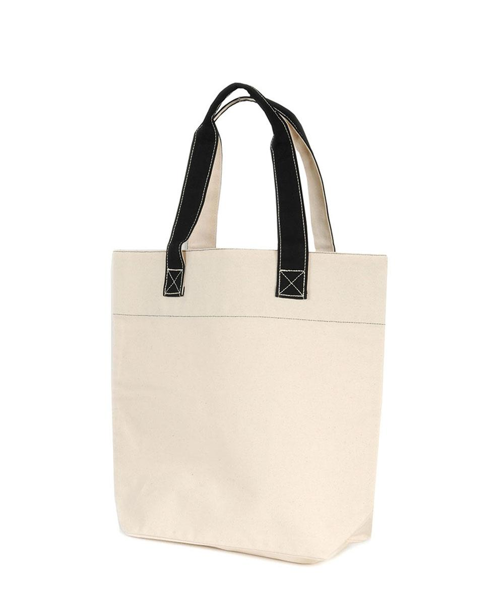 Canvas Retail Bag with Black Handles