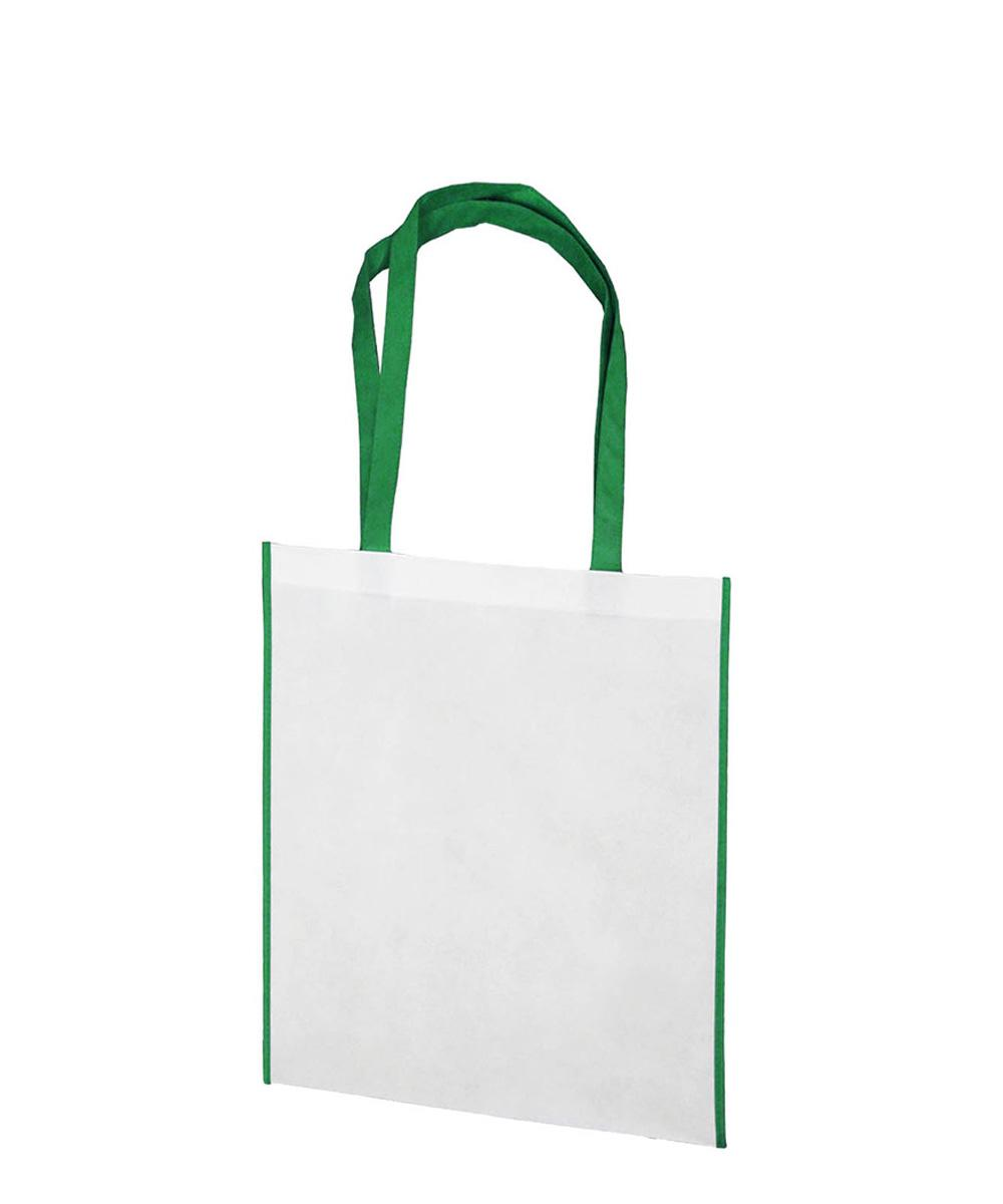 NWPP bag with green trim