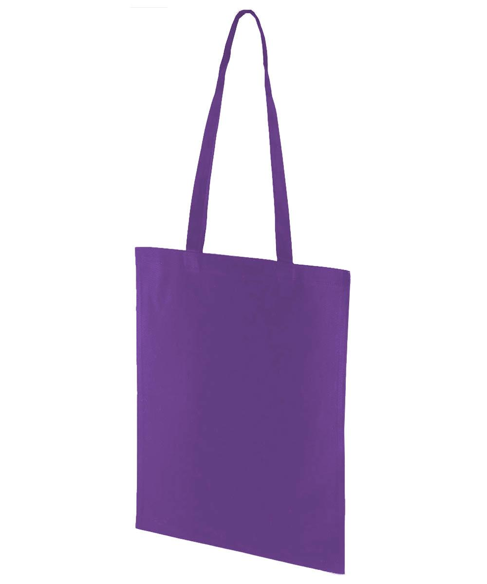 Purple Canvas Bag
