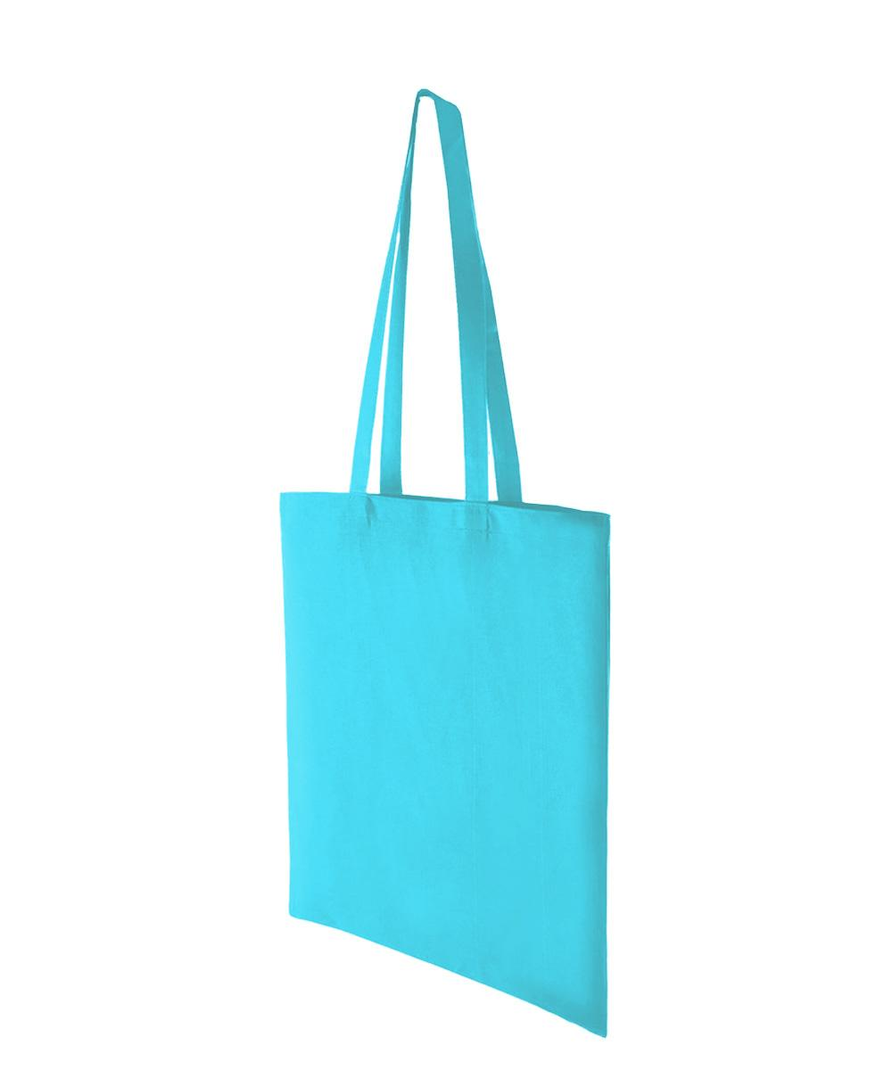 Aqua Lightweight Cotton Bag