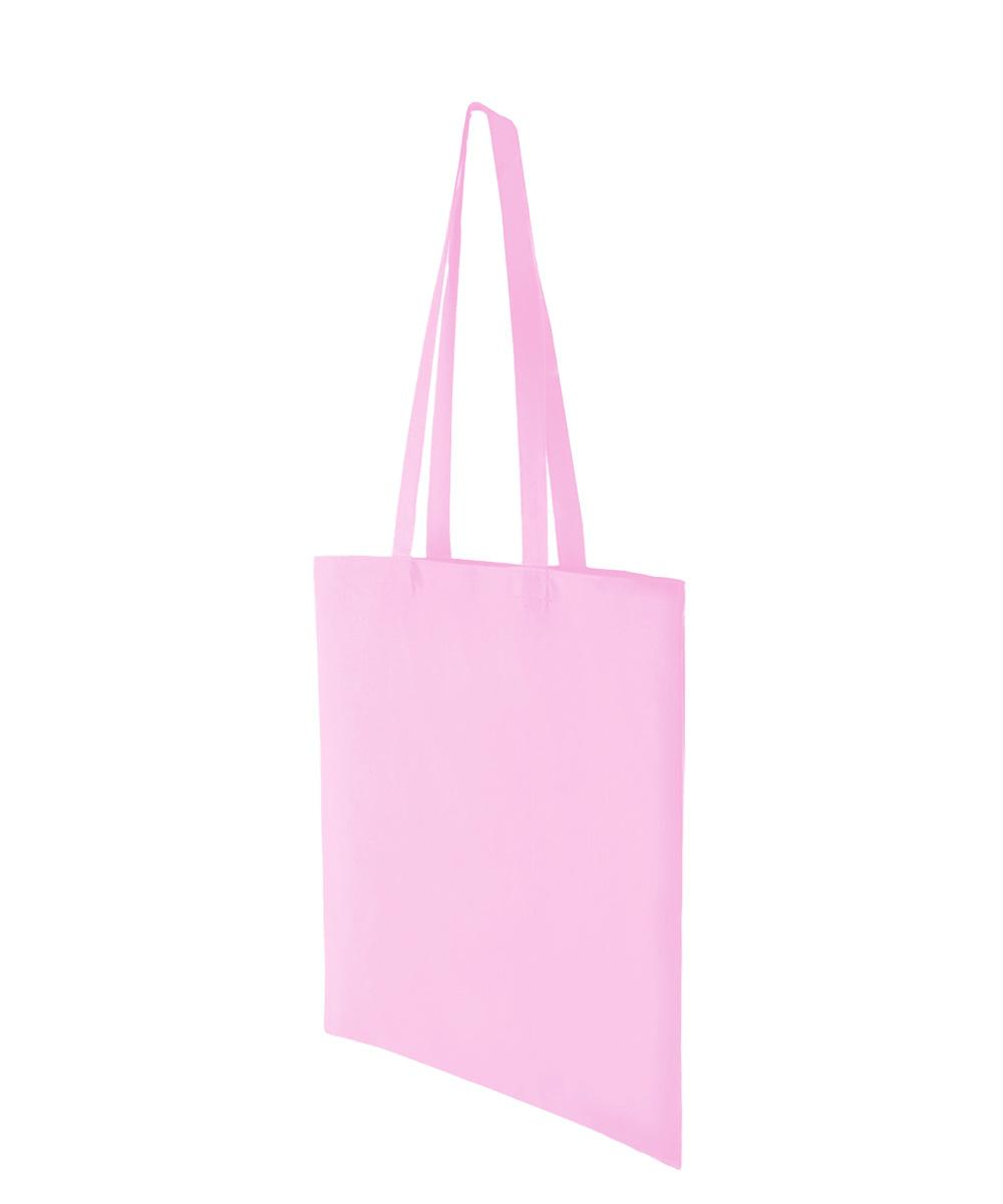 Baby Pink Lightweight Cotton Bag