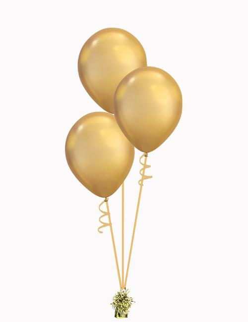 Bouquet of Latex Balloons Gold & Rose Gold - Various Styles