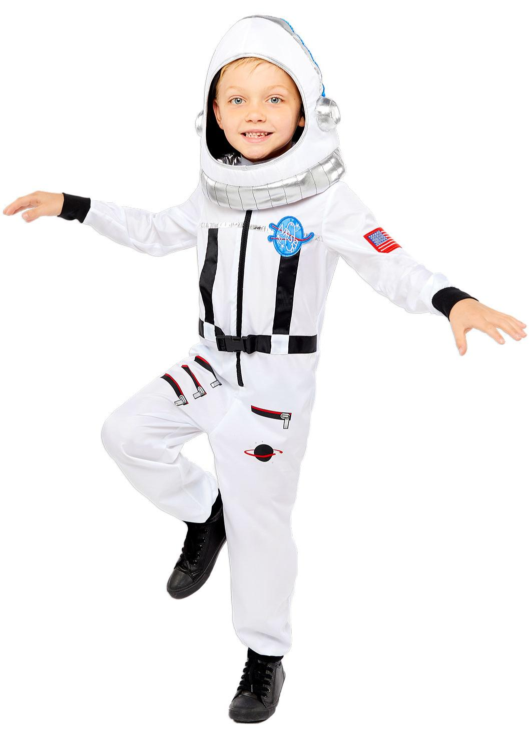 Kids Space Suit Costume White