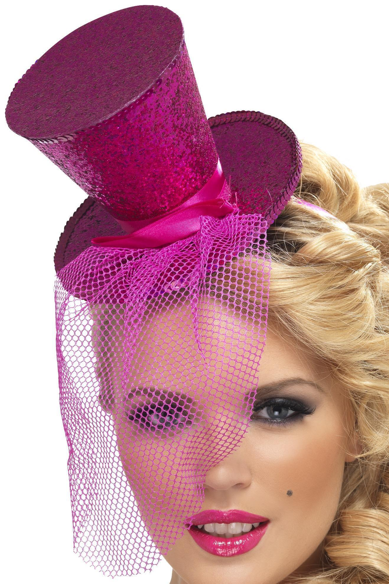 Mini Top Hat Pink