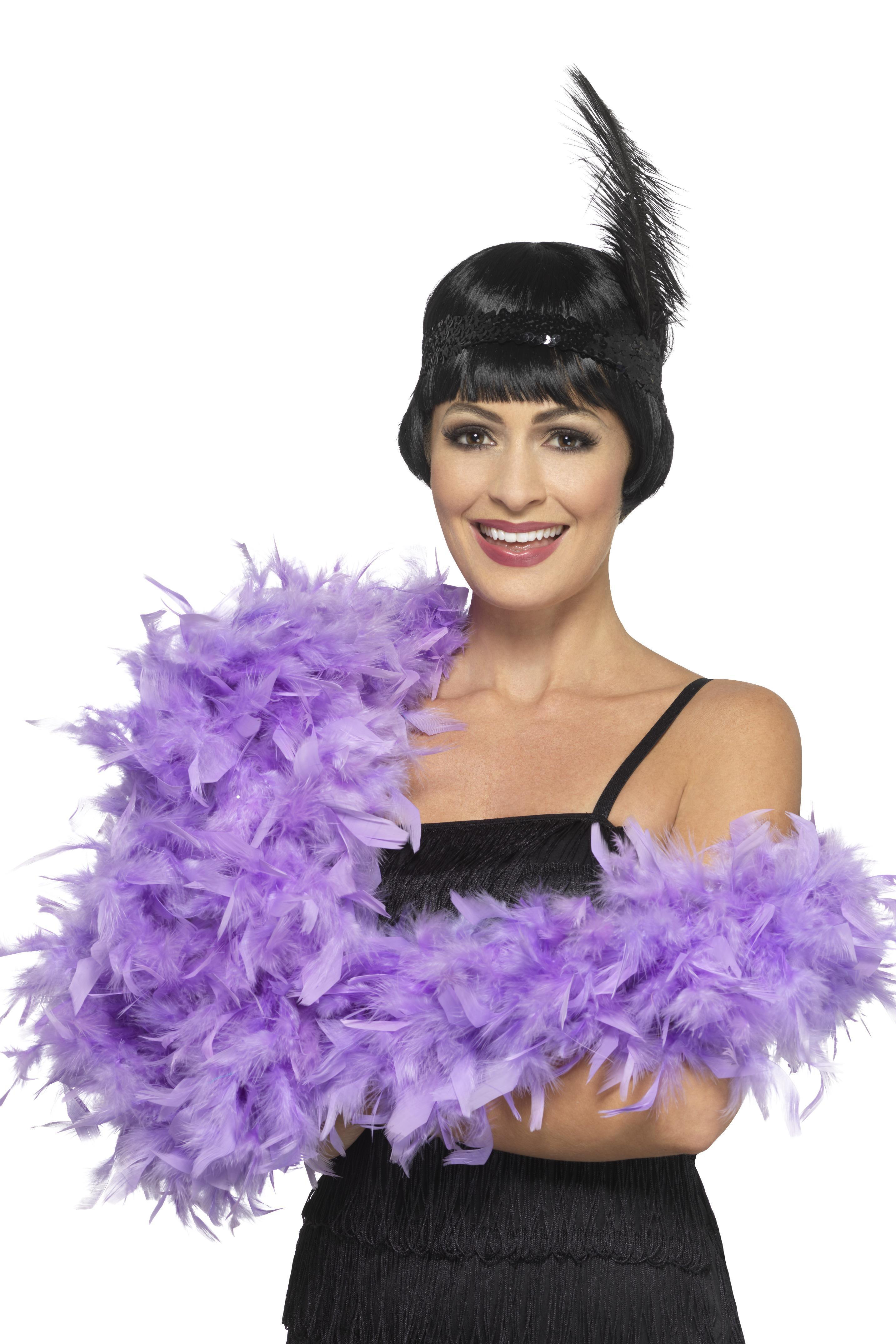 Deluxe Feather Boa Lilac