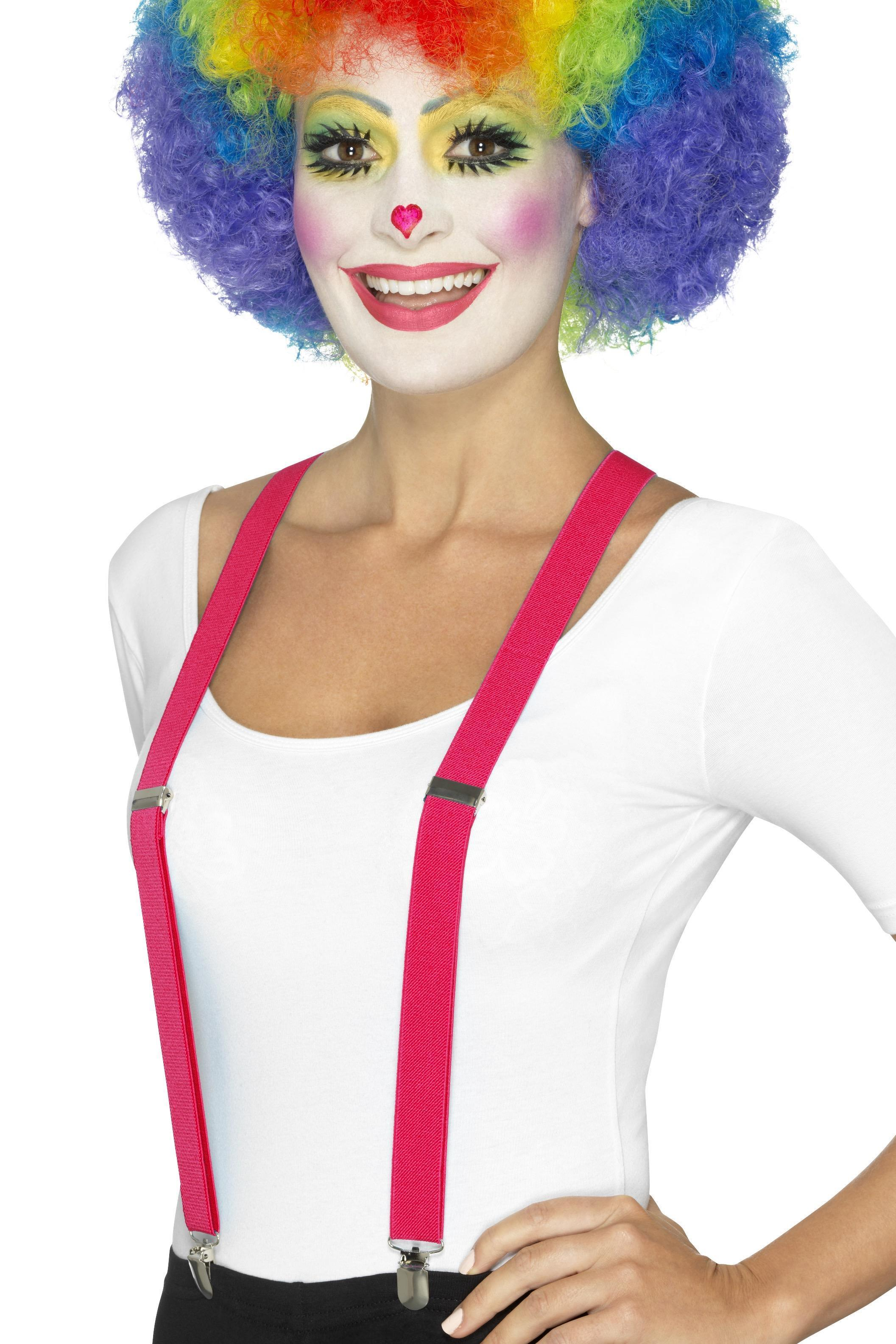 Clown Braces Pink