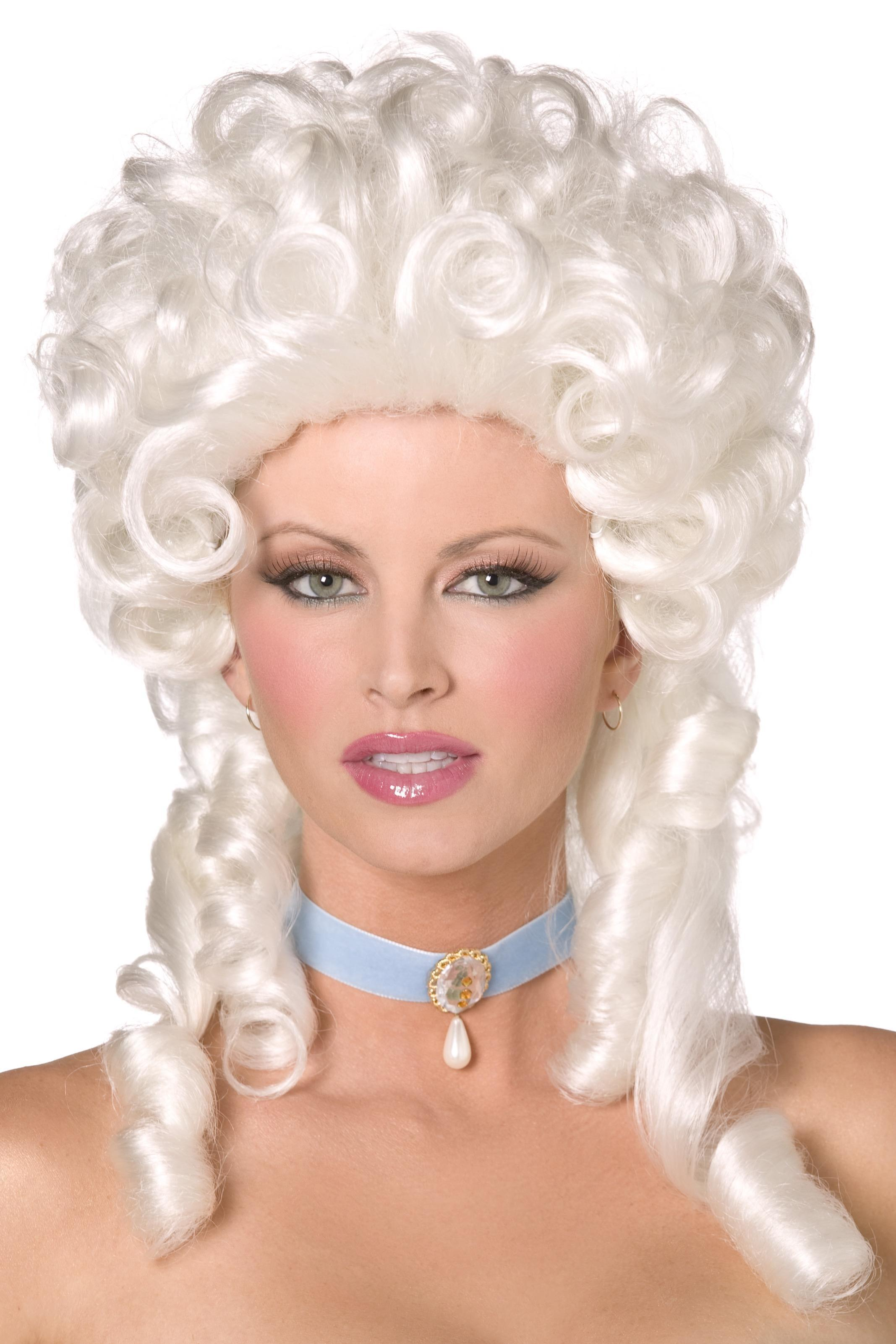 Baroque Wig White