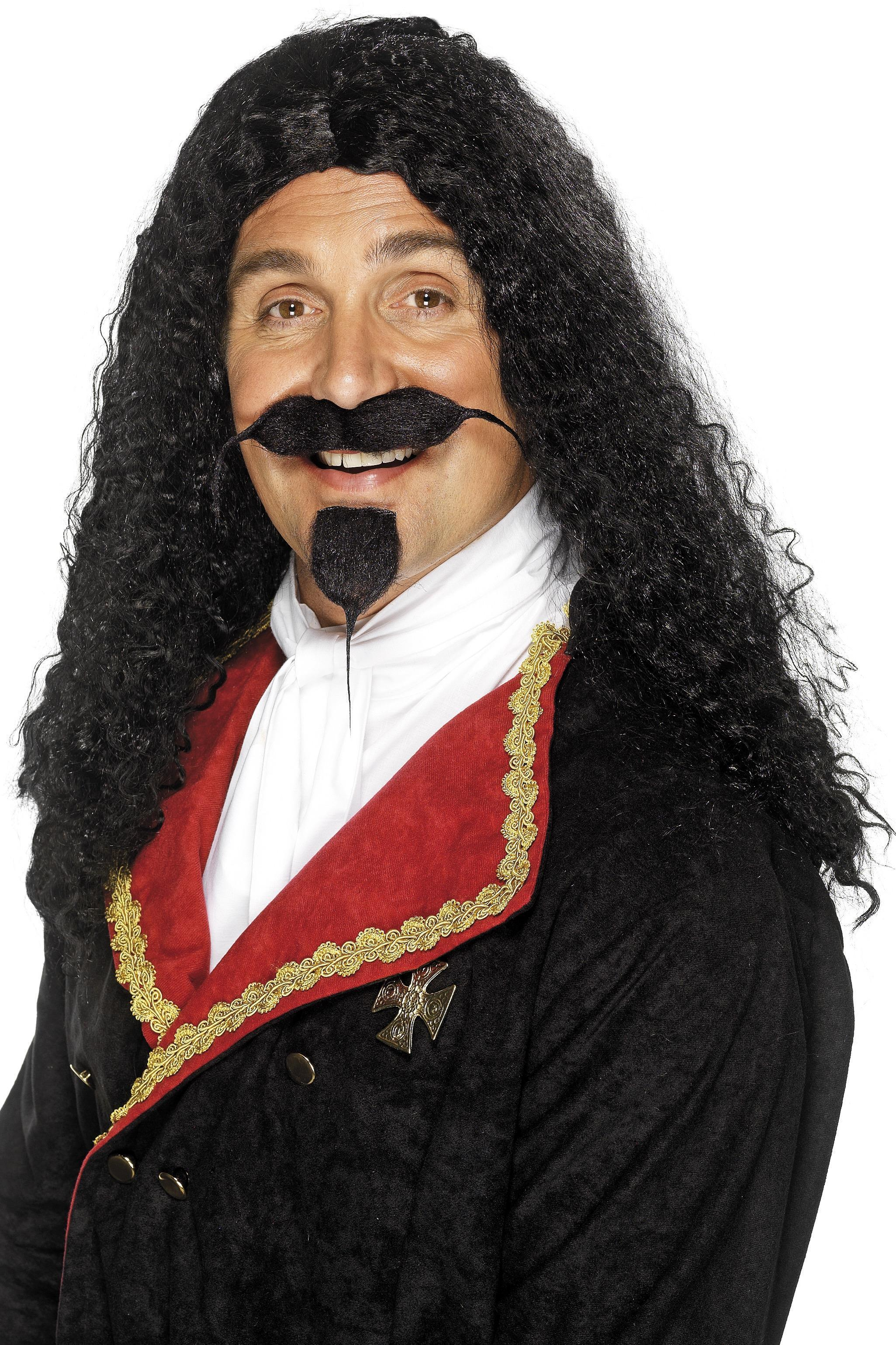 Musketeer Wig Black