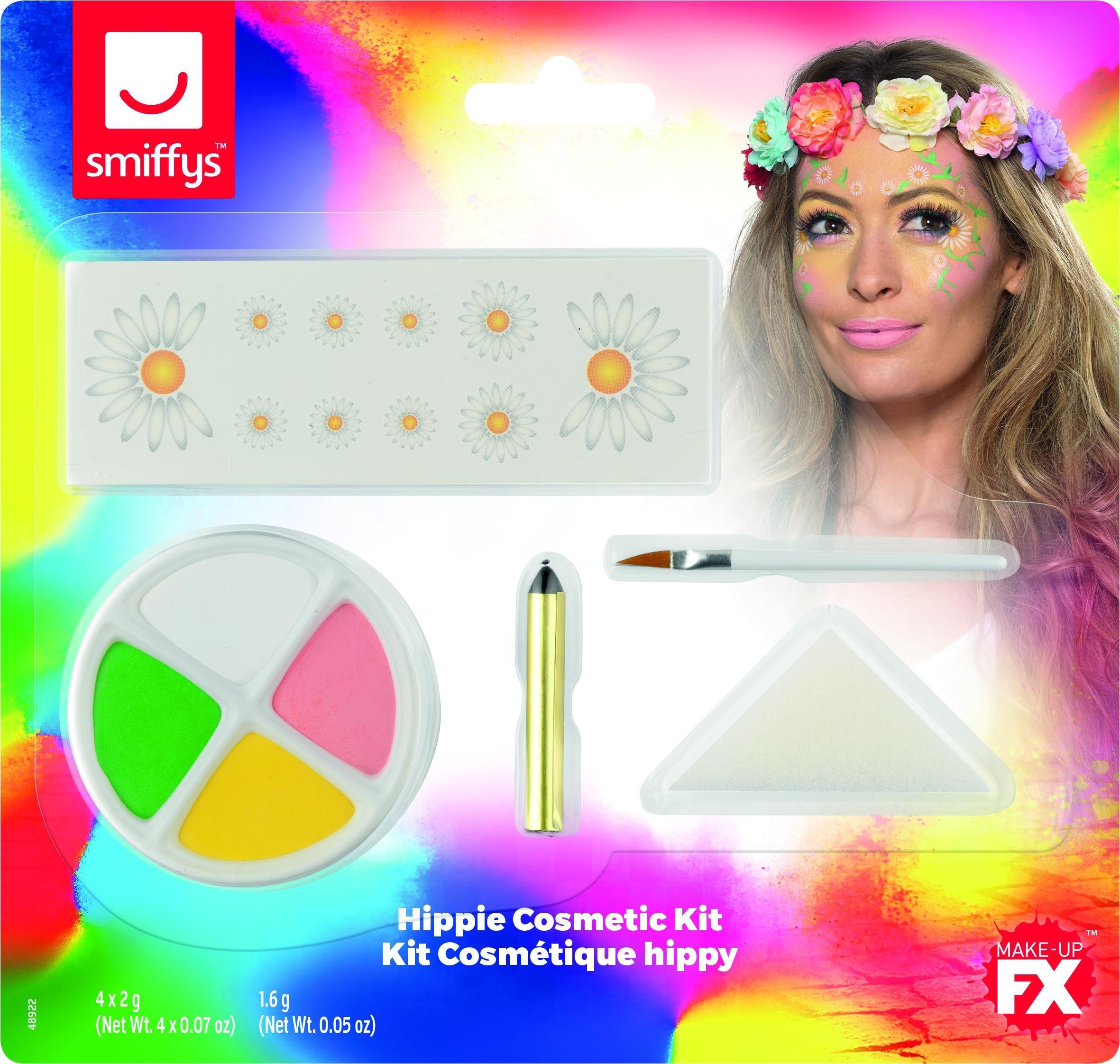 Smiffys Face Paint Kit Hippie