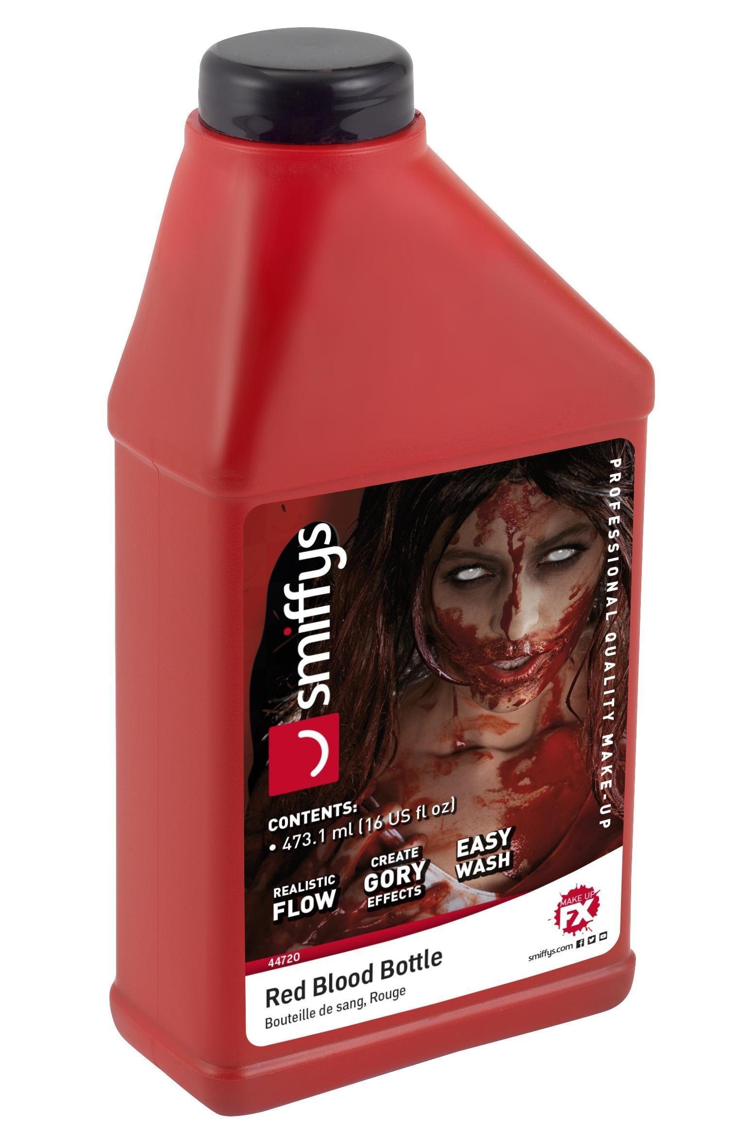 Blood Bottle Red 473ml