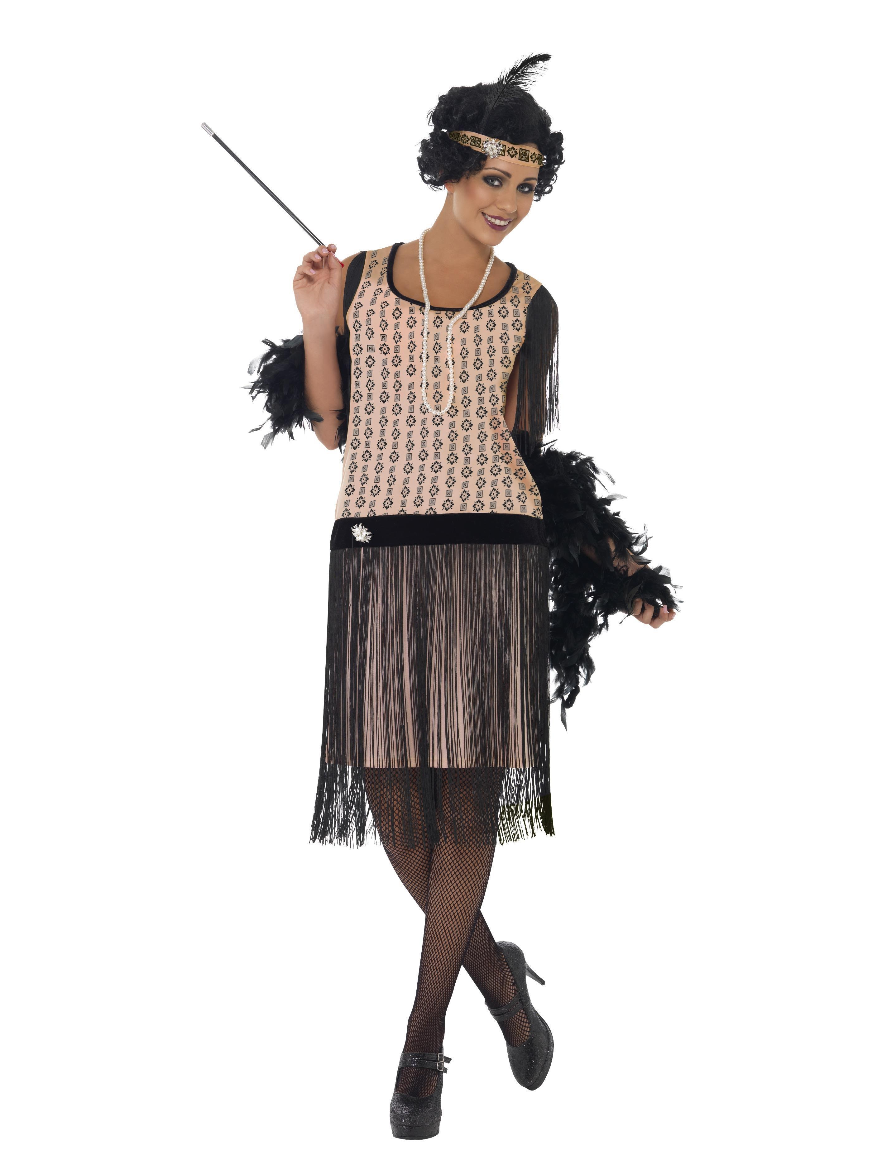 1920s Coco Flapper Costume Pink