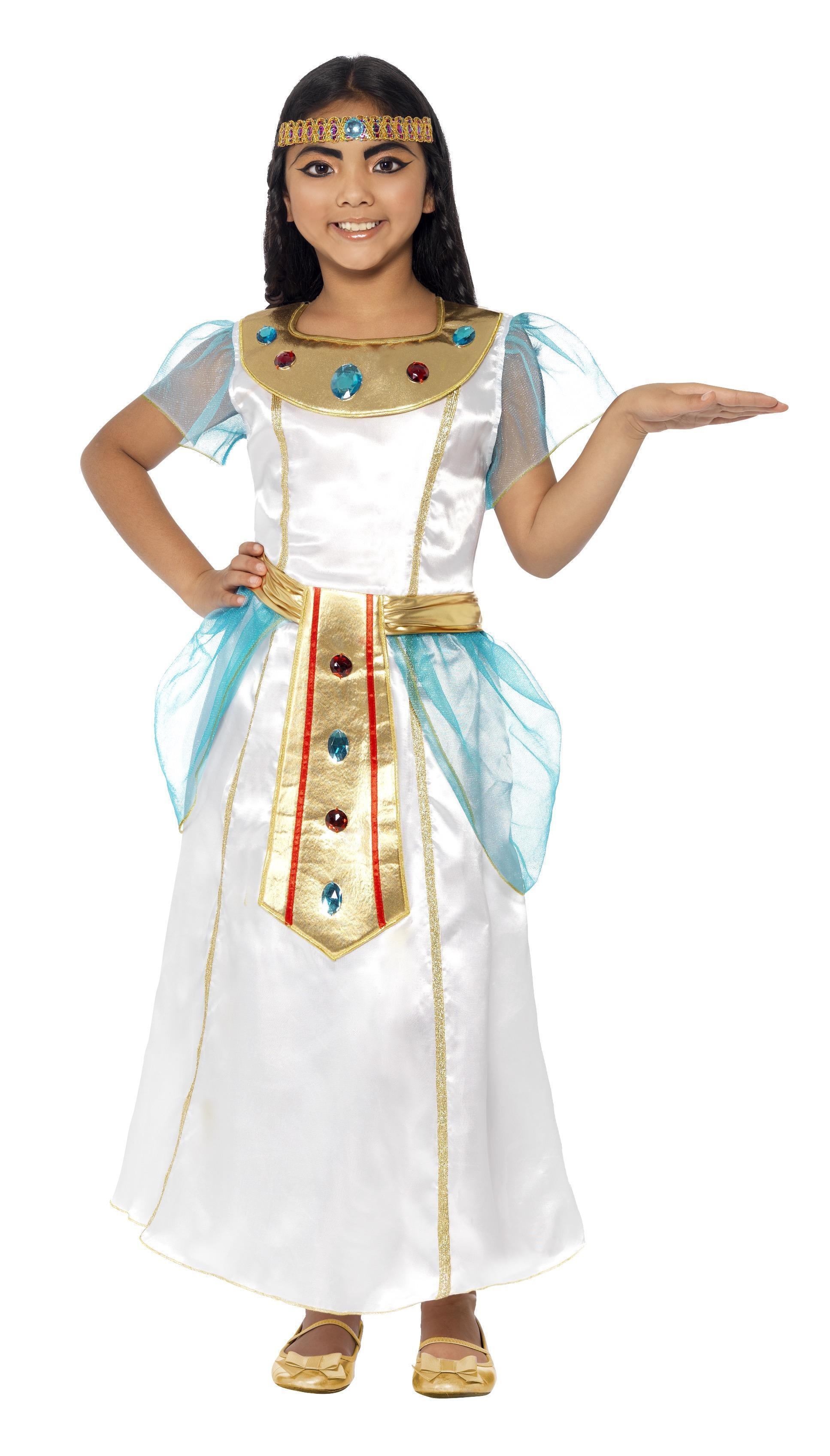 Kids Cleopatra Girl Costume Deluxe Egyptian