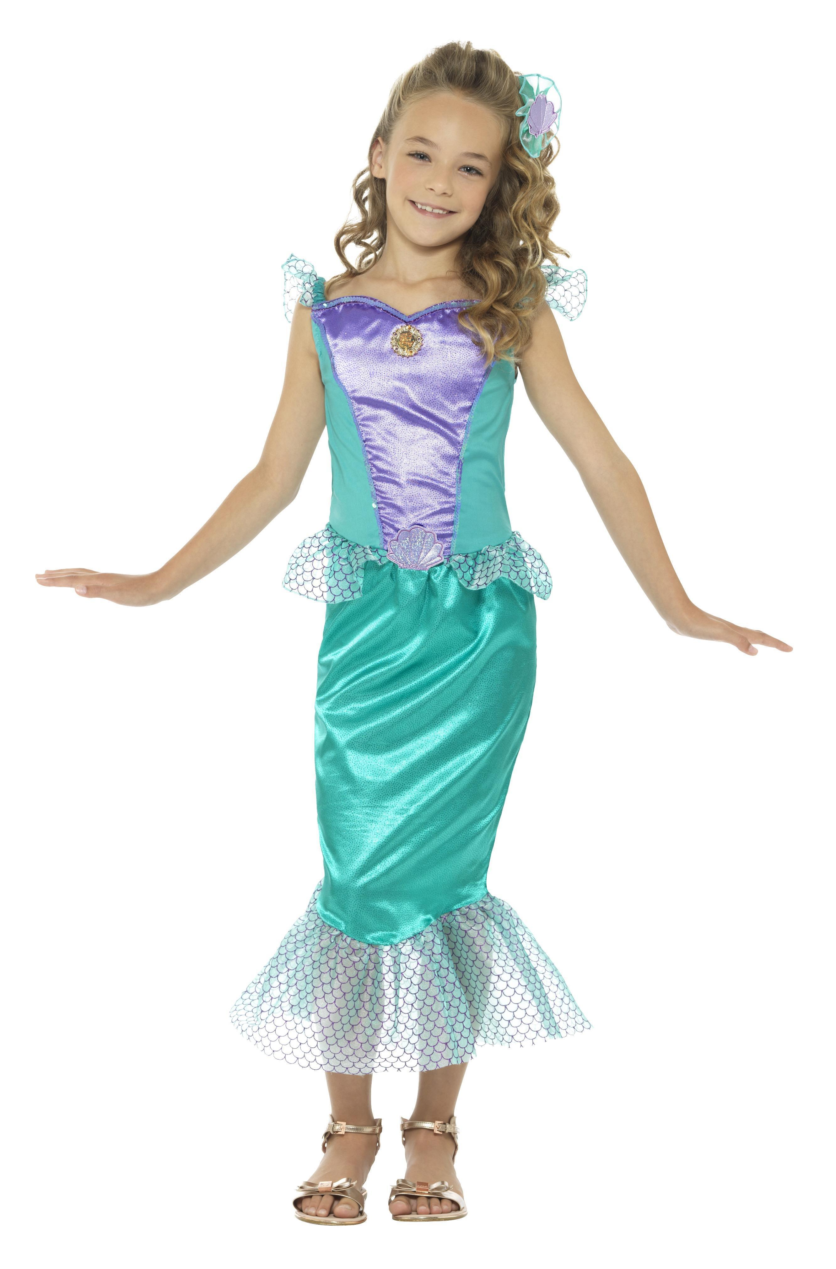 Kids Mermaid Costume Deluxe