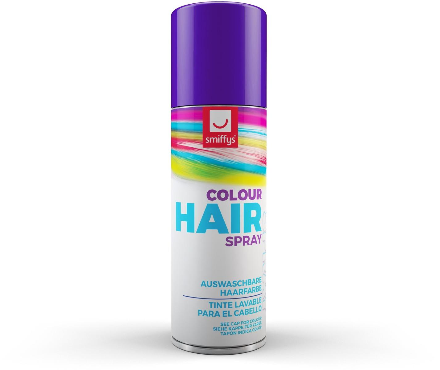 Coloured Hair Spray Purple