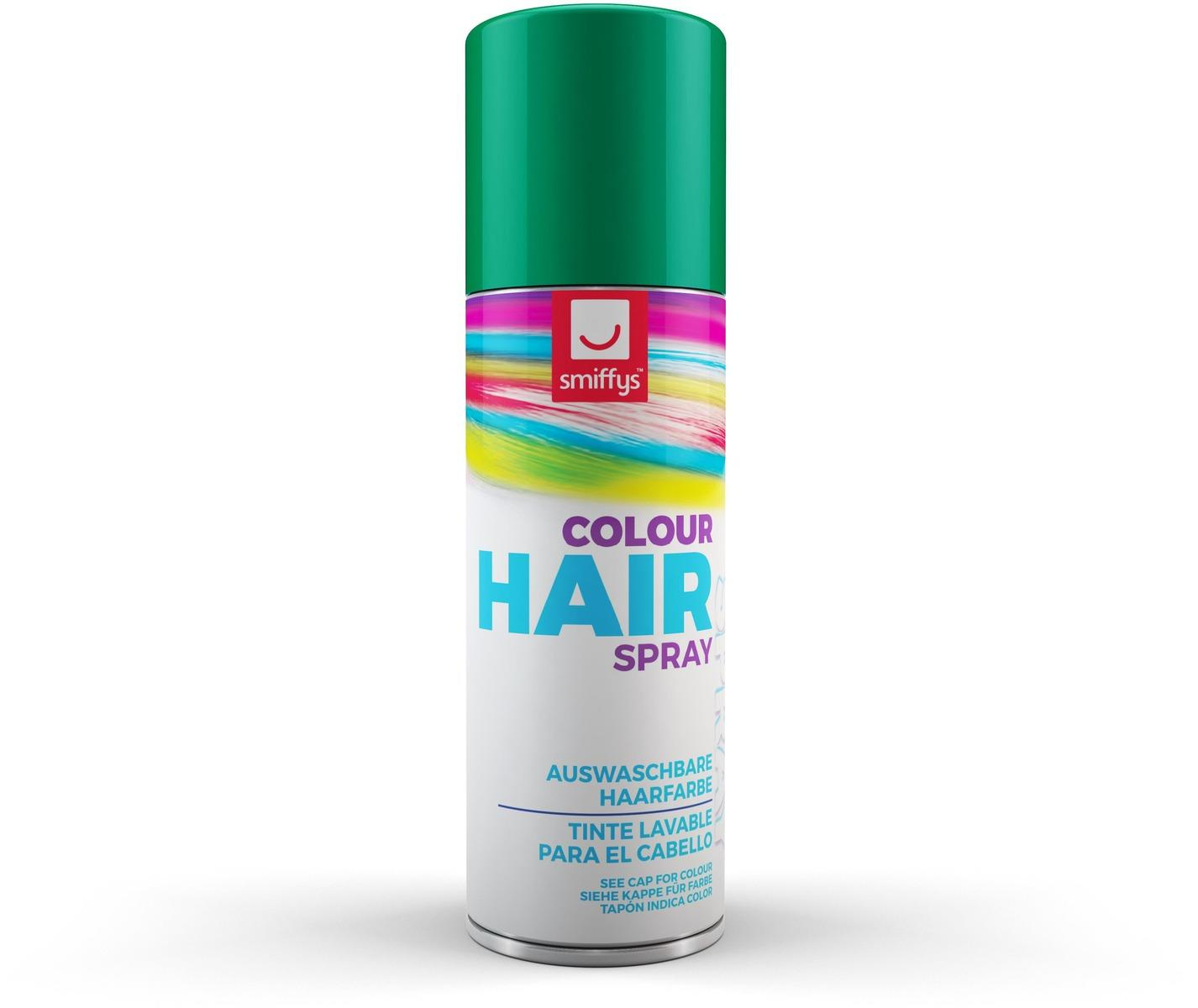Coloured Hair Spray Green