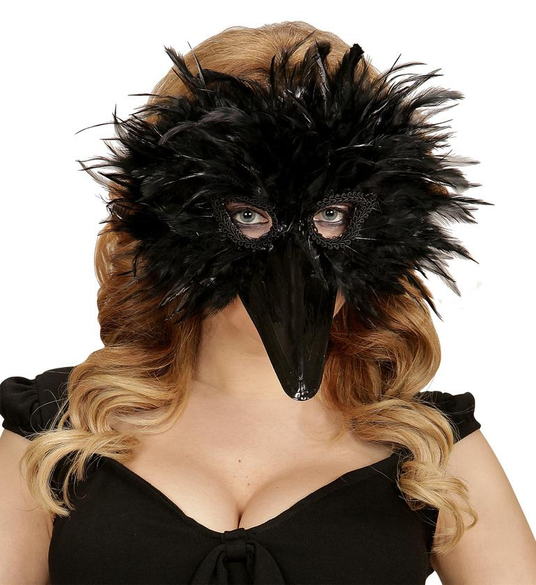 Black Bird Eye Mask