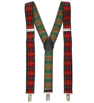 Scottish Braces Tartan