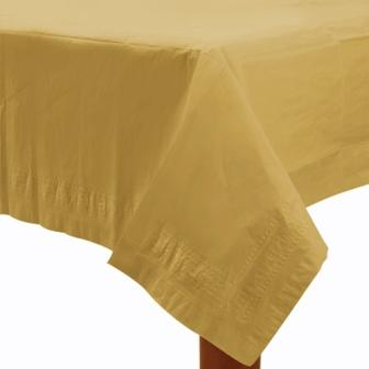 Table Cover Gold Rectangle