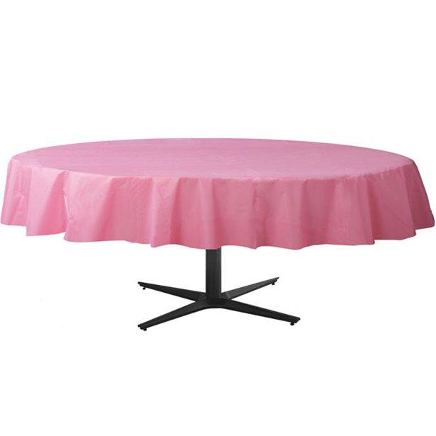 Table Cover New Pink Round