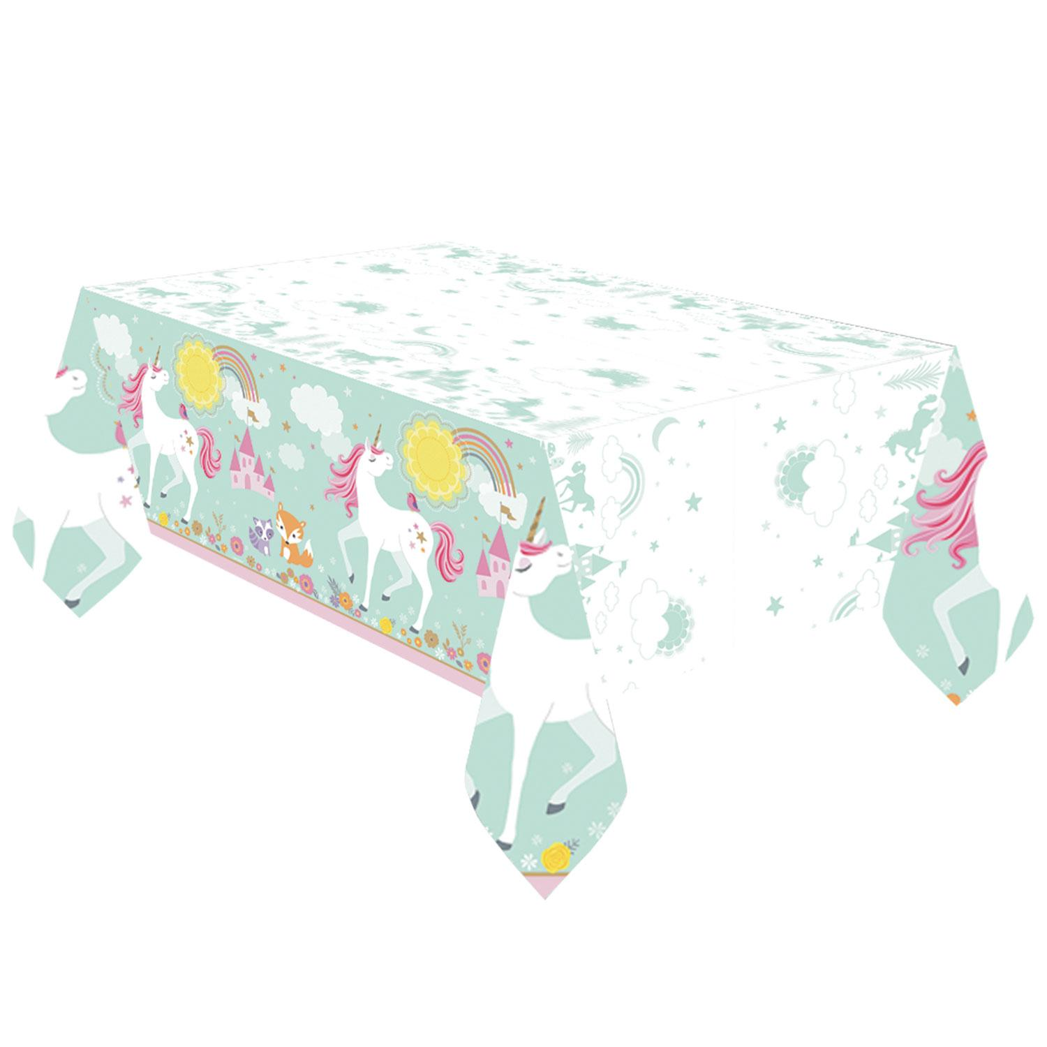 Paper Table Cover Magical Unicorn