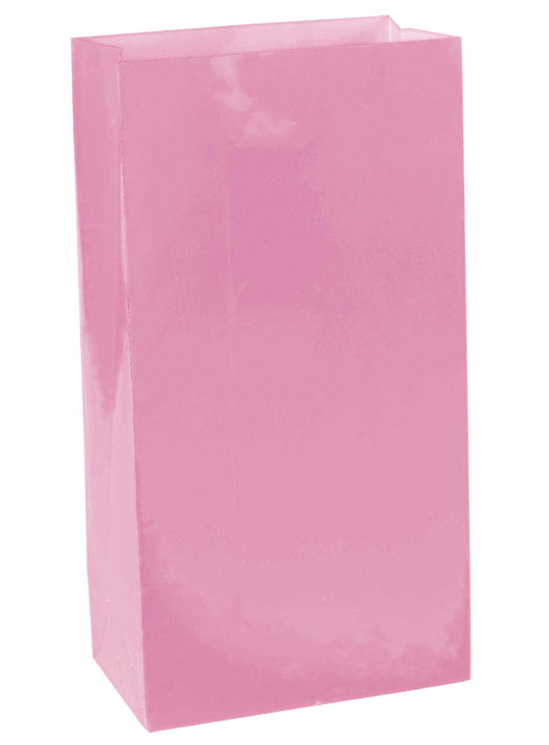 Paper Party Bags Bright Pink