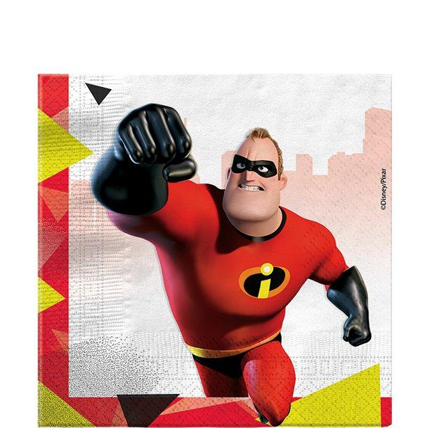 Paper Napkins Incredibles 20 Pack