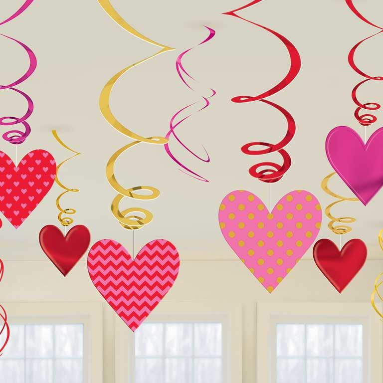 Swirl Decoration Kit Hearts