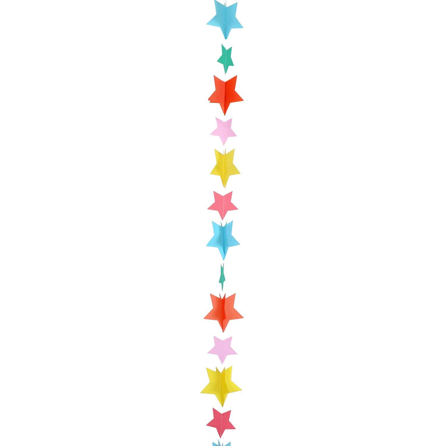 Balloon Tail Stars Multi-colour